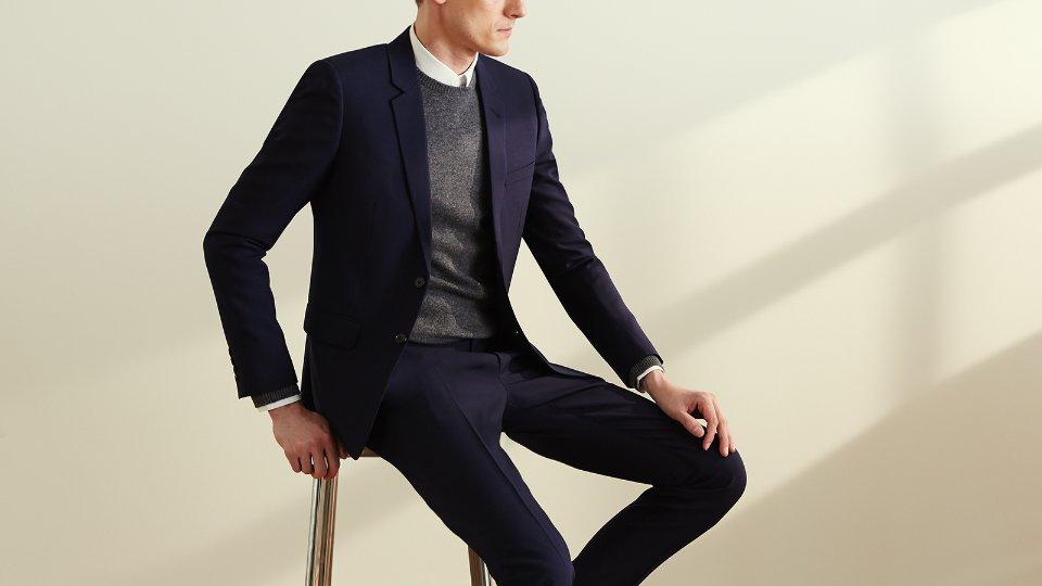 c2a7b4291723 Мужская одежда Yves Saint Laurent: характеристики бренда