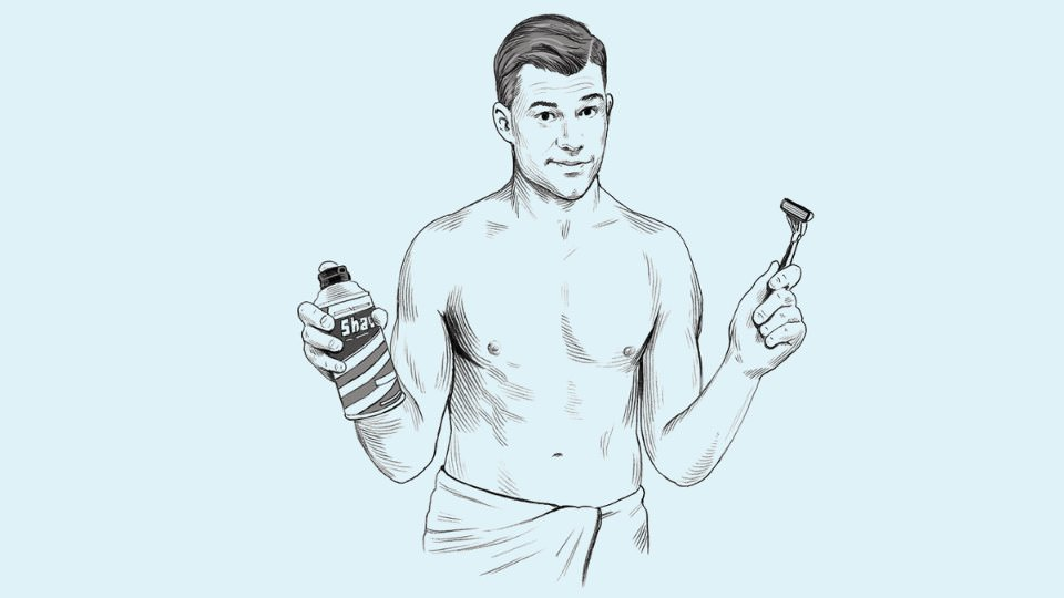 Как правильно бриться мужчине?