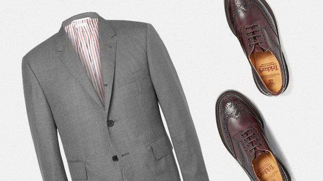 Цвет обуви под костюм