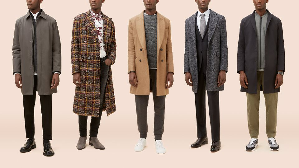 Виды мужских пальто для конкретных случаев