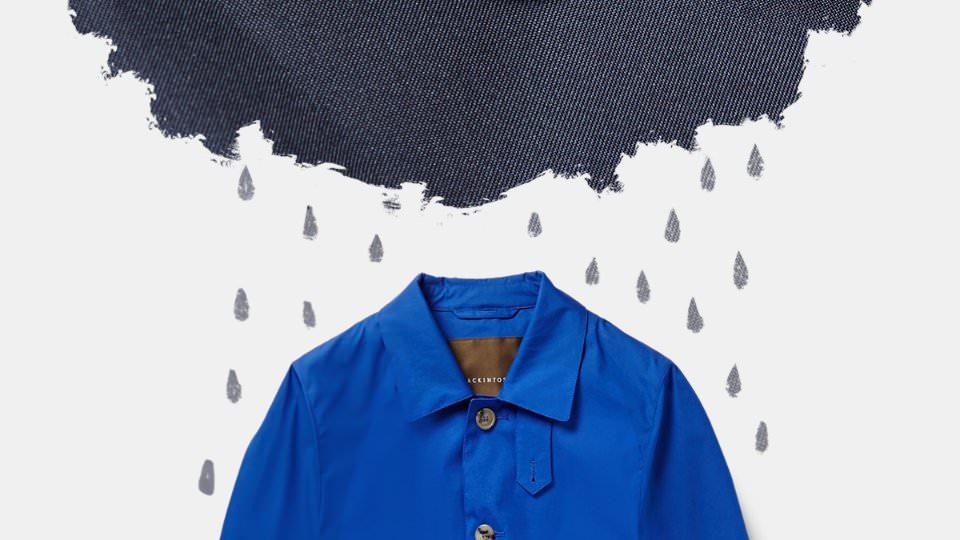 Как одеться в дождь?