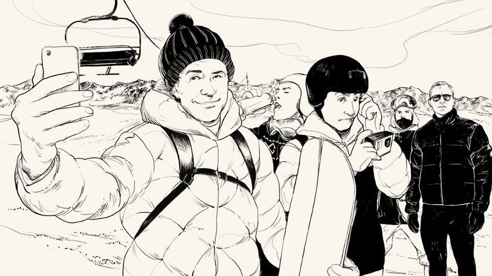 Безопасный отдых на горнолыжном курорте