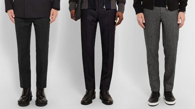 шерстяные брюки мужские