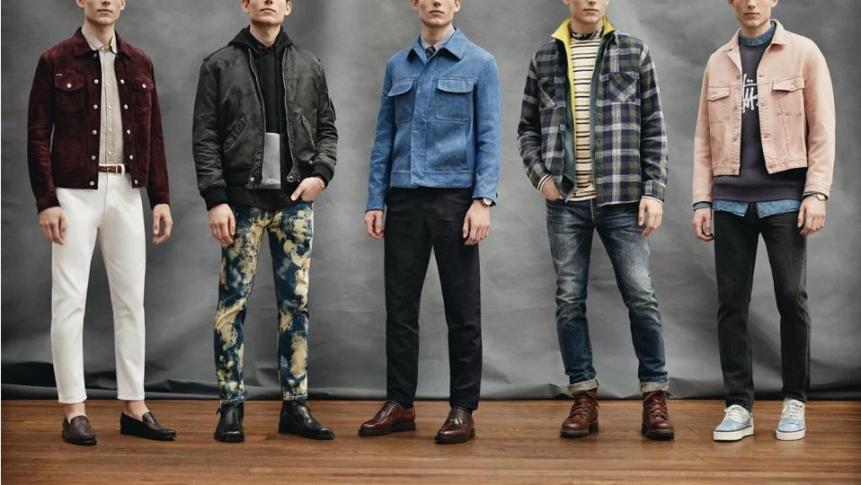 вещи из джинсовой ткани