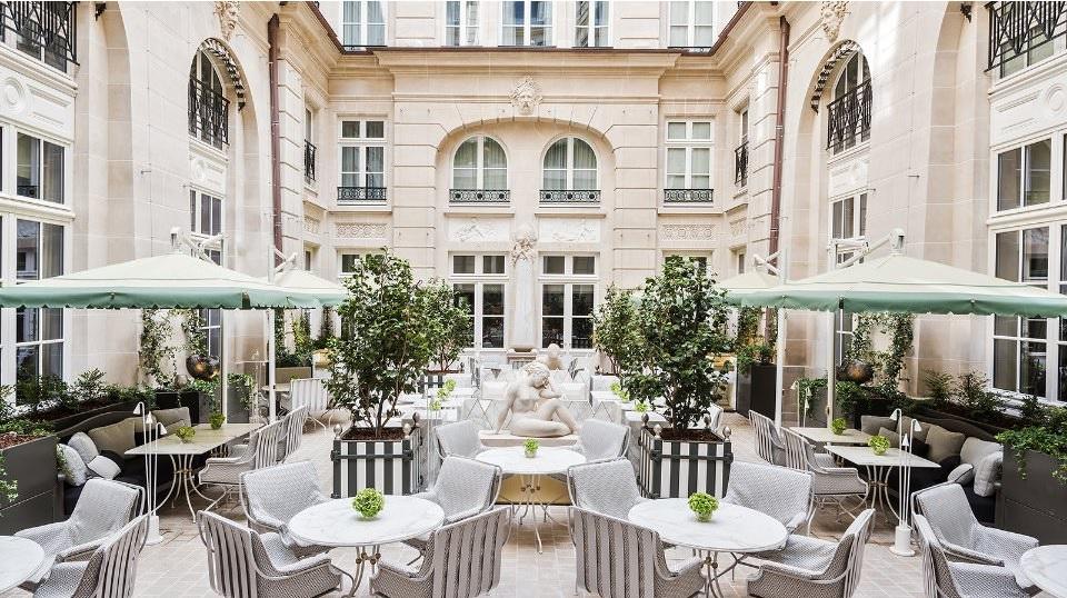 лучшие отели парижа