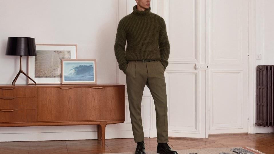мужские свитера из шерсти