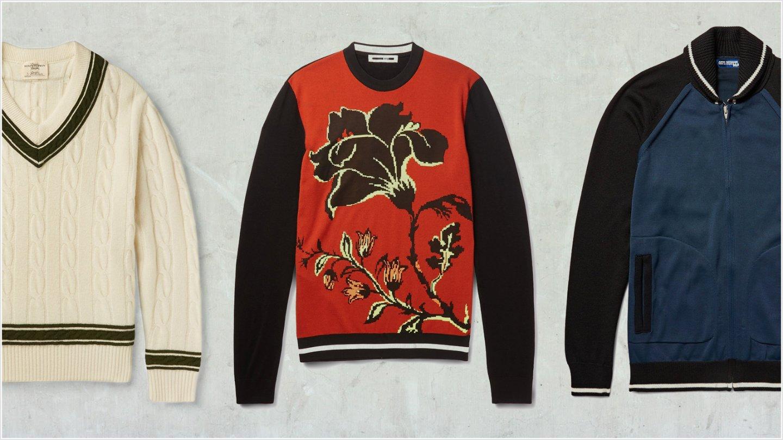 мужские весенние свитера