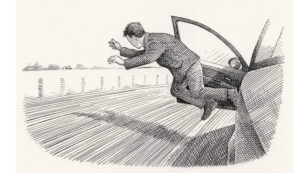 Как нужно прыгать из машины