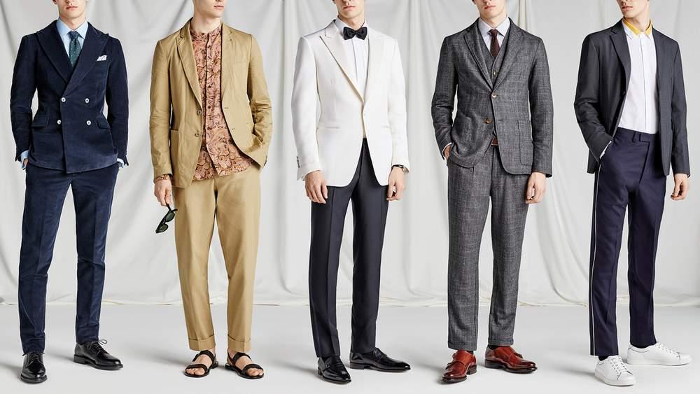Мужская одежда для свадьбы