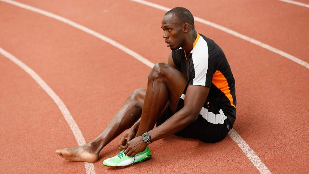 Олимпийский чемпион Усэйн Болт