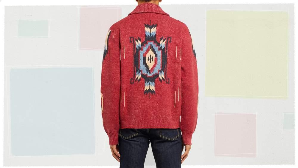 Вязаные свитера для мужчин